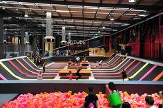 Latitude trampoline park heidleberg $17.50/ hr