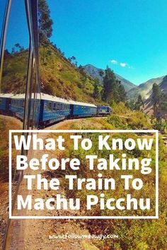 5 Things To Know Before Taking The Luxury Train To Machu Picchu   Machu Picchu Travel Tips   How To Get To Machu Picchu   Machu Picchu Itinerary   ways to get to Machu Picchu   Belmond Hiram Bingham luxury train to machu picchu from cusco