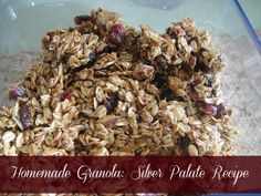 Delicious Homemade Granola: Silver Palate Outrageous Granola Recipe