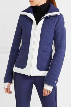 Fusalp - Lindsey Quilted Down Ski Jacket - Navy - FR36