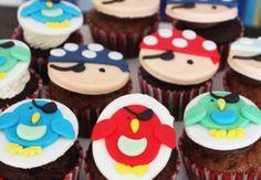 Cupcakes de piratas