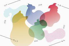 MdN デザイナーズ年賀状 | Project | Works | アトオシ atooshi | グラフィックデザイン・ブランディング・ロゴマーク制作依頼 | 永井弘人
