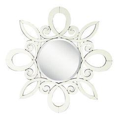 Sariya Metal Wall Accent Mirror