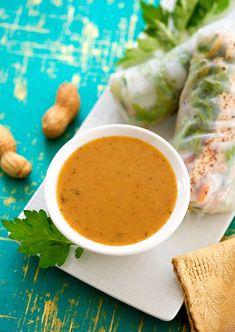 Coconut-Peanut Sauce or Salad Dressing