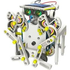 - 14 in 1 Solar Buddy Robot Educational Kit - The process and the creations educate and fascinate the mind! - Let your child learn about Solar Energy while m Solar Energy Panels, Best Solar Panels, Solar Energy System, Solar Power, Build Your Own Robot, Robot Kits, Solar Panel Kits, Solar Projects, Arduino Projects