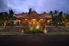 The Cangkringan Jogja Villas & Spa Yogyakarta Indonesia Indonesian Decor, Bali Style Home, Bali House, Javanese, Tropical Houses, Fireplace Design, Outdoor Wall Lighting, Big Houses, Traditional House