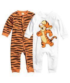 2 Pack Organic Winnie The Pooh Pajamas H Amp M 18