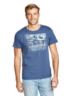 Image for Blue Flying Kombi Tee from Just Jeans