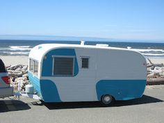 1958 Ken Craft travel trailer