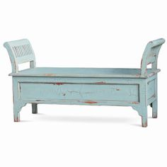 MacKenzie Bench with Storage. Customize items with any of our wide range of finishes, colors, and hand painted artwork. Any item can be painted in over million ways enabling items to be truly unique. The possibility are nearly endless and include stained, distressed, textured, antiqued, weathered and metallic finishes. In addition, artwork is available on most items. Items can be customized with any of our hand painted designs.