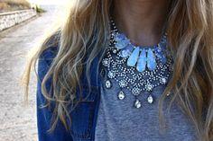 Opals & crystals.
