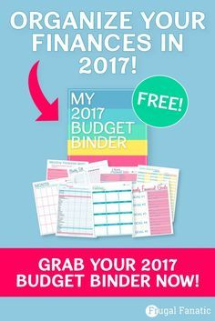 2017 Budget Binder - Get Your Finances in Order