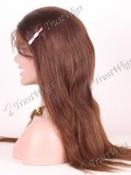 Natural Straight Glueless Full Lace Wig GLW056