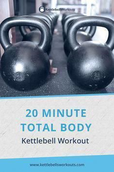 Discover a total body 20 minute kettlebell workout challenge. Activate over 600 muscles in your body, push your cardio, and burn loads of calories. Kettlebell Training, Kettlebell Snatch, Kettlebell Clean, Full Body Kettlebell Workout, Kettlebell Weights, Kettlebell Benefits, Kettlebell Challenge, Kettlebell Swings, Squat Workout
