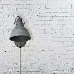 Industriele wandlamp betonlook leeslamp Wall Lights, Lighting, Home Decor, Homemade Home Decor, Appliques, Lights, Lightning, Decoration Home, Interior Decorating