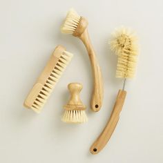 One of my favorite discoveries at WorldMarket.com: Eco Clean Tampico Vegetable Brush 4.99