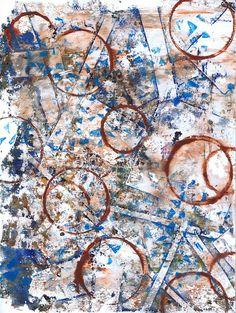 """Circle Dance"" original acrylic monotype by Sharon Giles Dance, The Originals, Prints, Dancing"