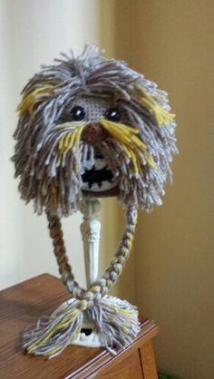 Wookie Crochet Hats, Dreadlocks, Hair Styles, Knitting Hats, Hair Plait Styles, Hair Makeup, Hairdos, Haircut Styles, Dreads