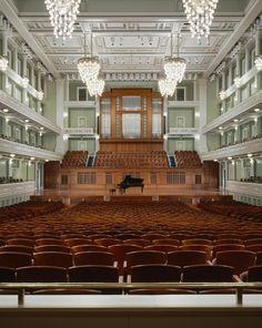 Nashville Symphony concert hall and...