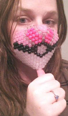 Hey, I found this really awesome Etsy listing at https://www.etsy.com/listing/226616501/pokeball-mask