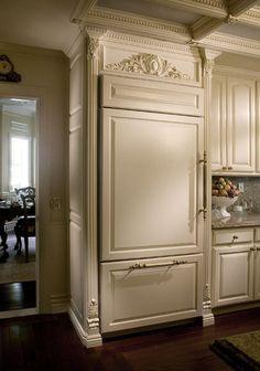 Hmmmm - can I convince John to have a hidden fridge?