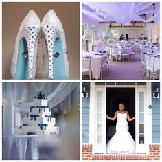 Winter Wedding  photo by Tunji Sarumi // tunjistudio.com #winterwedding #outdoorwinterwedding #bluewinterwedding