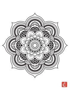 Mandala à colorier 2
