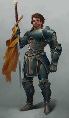 ArtStation - Knight, Bangku An