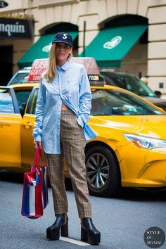 New York SS 2017 Street Style: Before Sies Marjan