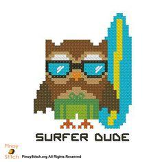 Hootie Surfer Dude - PinoyStitch