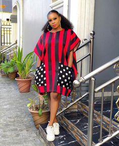Short African Dresses, African Fashion Skirts, Red Colour Dress, Red Color, African Wear, African Attire, Choice Fashion, Ankara Dress Styles, Fashion Tips For Girls
