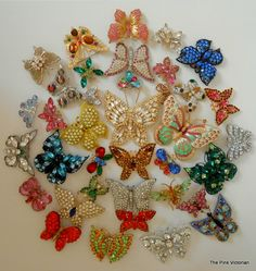 Collection of Butterfly Pins