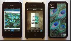 Creating a custom iPhone case from Instagram photo using frām Case (Kickstarter) and a standard printer