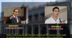 El ex Gobernador de Veracruz, Javier Duarte de Ochoa, presuntamente habría enviado mil millones de pesos de las arcas del Gobierno al Comité Ejecutivo Nacional del PRI, según reveló un audio que circuló este fin de semana. En el audio se escucha una conversación entre dos personas, quienes presunta