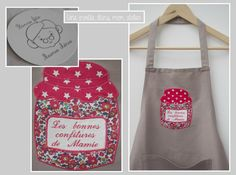 Tablier-confitures-Liberty-Betsy Anne rouge