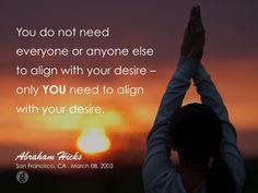 #abrahamhicks #alignment #you