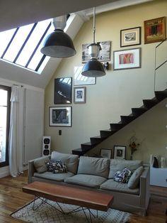 Rénovation réussie pour ce #duplex parisien | Une hirondelle dans les tiroirs