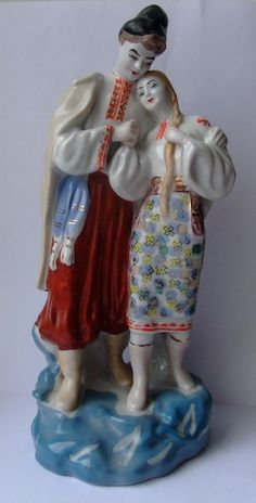 Porcelain figurine May Night Polonsky factory of artistic ceramics USSR -70 th