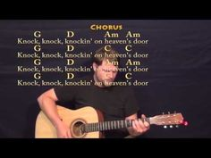 Knocking On Heaven's Door (Bob Dylan) Strum Guitar Cover Lesson with Lyrics Best Acoustic Guitar, Guitar Songs, Music Lessons, Guitar Lessons, Guitar Chords Beginner, Playing Guitar, Learning Guitar, Guitar Chord Chart, We Will Rock You