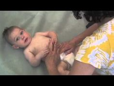 Infant Massage for Gas Relief and Digestion.