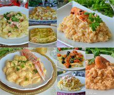 Primi piatti per la Vigilia di Natale facili e veloci Italian Lunch, Italian Pasta Recipes, Healthy Comfort Food, Xmas Food, Just Cooking, Good Food, Food And Drink, Healthy Recipes, Meals