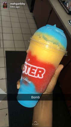 Check out @ittssnessa ❤️ Fun Drinks, Yummy Drinks, Yummy Food, Beverages, Slushies, Slurpee, Frozen Drinks, Food Goals, Food Cravings