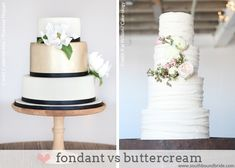 Guide to Wedding Cake Terminology (fondant vs buttercream) | SouthBound Bride www.southboundbride.com/a-southbound-guide-to-wedding-cake-terminology