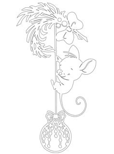 Your place to buy and sell all things handmade Christmas Wood, Christmas Crafts, Christmas Ornament Template, Coloring Books, Coloring Pages, Simple Flower Drawing, Noel Gifts, Paper Art, Paper Crafts