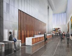 See the lobby of the proposed Freedom Tower (One World Trade Center) and learn about plans for building on Ground Zero in New York.