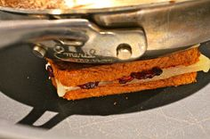 The Perfect Way To Make The Gourmet Grilled Cheese: Blackberry Jam & Le Chevrot Cheese