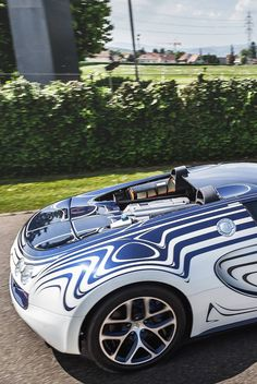 Bugatti Veyron Grand Sport L'Or Blanc #cartsickers #cardecals #vinyl_car_stickers #vinyl_car_decals #vinyl_car_wrap