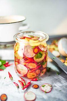 Ředvičkové pickles