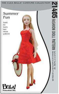 Free Copy of Pattern - Summer Fun Basic Tie Back Sun Dress
