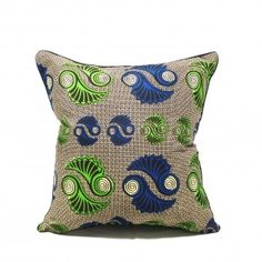 Vector Cushion (with duck feather filling)